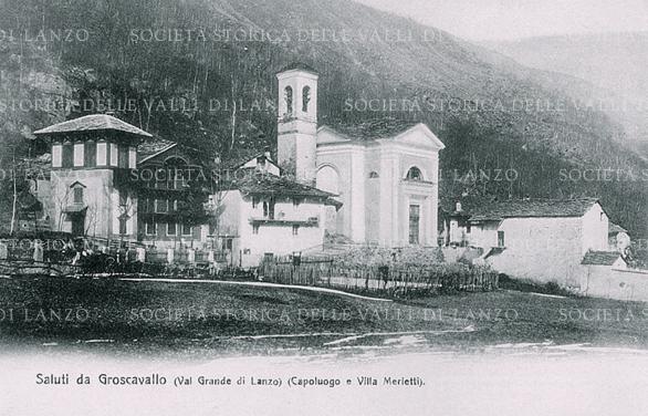 Villa Alpi Santa Maria Maddalena